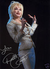 DOLLY PARTON AUTOGRAPH SIGNED PP PHOTO POSTER