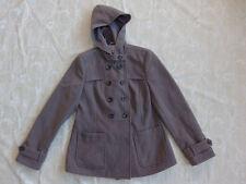 Target Brown Winter Coat With Hood Women's Size 12