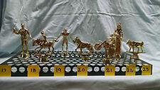Trophy Topper Figures. Over 60 Varieties in Stock.