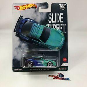 Pandem Subaru BRZ * SLIDE STREET 2021 Hot Wheels Car Culture Case E