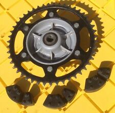 09 BMW G 650 GS G650 G650gs rear back sprocket and drive hub
