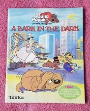 Tonka Pound Puppies A Bark In the Dark Childrens Fiction Book - 1985