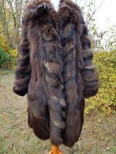 Volpe Argento, cappotto di pelliccia, giacca di pelliccia, pelliccia, Echt PELZ, K. visone,. BLU volpe, tg. 38-40-42