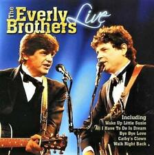 THE EVERLY BROTHERS - LIVE  (NEW SEALED CD)