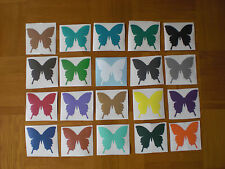 Wandtattoo Aufkleber Sticker Schmetterlinge 20 Stück