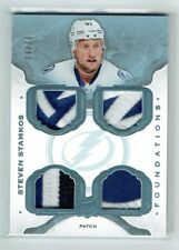 14-15 UD The Cup Foundations  Steven Stamkos  /10  Quad Patches  All-Star