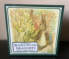 NEW Vintage 1988 Collectible World Of Beatrix Potter DRAUGHTS Made In UK SEALED