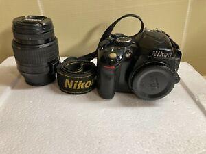 NIKON D3200 24MP Camera + Lens AF-S NIKKOR 18-55MM