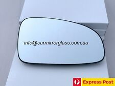 RIGHT DRIVER SIDE HOLDEN BARINA TK HATCH 2006 - 2008 HEATED MIRROR GLASS