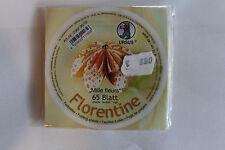 Faltblätter Florentine Mille fleurs 02; 65 Blatt D: 10 cm 80 g/qm
