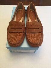 Antonio Melani Women's Brevyn Loafer Luggage Tan Suede 7.5m (Dillards Brand)