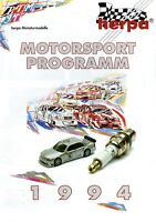 Herpa Motorsport Programm DTM 1994 Prospekt Modellautoprospekt brochure catalog