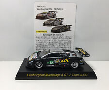 Kyosho 1/64 Lamborghini Murcielago R-GT/Team JLOC Diecast Car Model #68