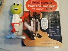 1969 CRAFTSMAN SEARS ROEBUCK Power & hand tools catalog 99 pages