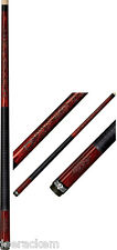 New Players D-LCR Cue - Tribal Celtic - FREE Joint Caps, Tip Tool & US SHIPPING