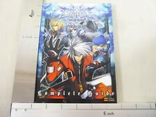 BLAZBLUE Complete Game Guide Japanese Book PS3 SB*