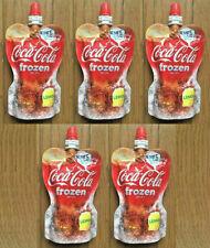 NEW! Coca Cola Frozen Lemon 135g x5ea Pack / Direct export from Japan!