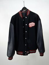JH Design Red Wings Reversible Wool/Leather Sleeves Size M