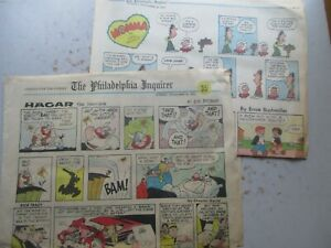 Philadelphia Inquirer Sunday Newspaper Comics 11/24/1974 Complete, 8 Pages