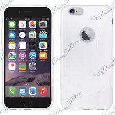 "Etui Coque Housse TPU Silicone Gel S Line BLANC Apple iPhone 6S Plus 5.5"" Pouce"