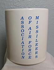 """Vintage Air Force Mug Association of Air Force Missileers 3.75"""""""