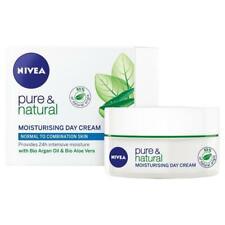 Nivea Visage Pure & Natural Moisturising Day Cream 50ml Normal/Combination skin