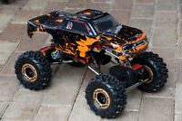 Custom Body Muddy Orange for Redcat Racing Rockslide / Everest 1/10