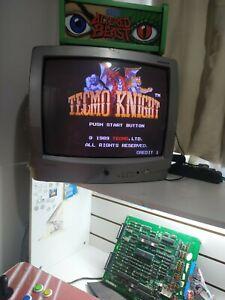 TECMO KNIGHT - 1989 Tecmo -Guaranteed Working COLLECTOR QUALITY JAMMA ARCADE PCB