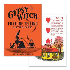 Gypsy Witch fortune telling playing cards Divination Instructions Tarot Deck New