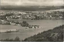 Saalburg, Am Stausee der Bleiloch-Talsperre, DDR-Foto-Ansichtskarte von 1962