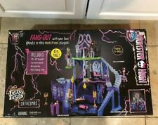 Monster High Freaky Fusion Catacombs 4' Tall Playset/Castle/Dollhouse 2014 New