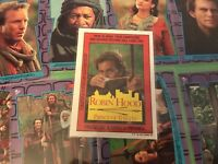 1991 Topps Robin Hood Prince Of Thieves Complete Sticker Set 1-9 Mint