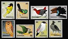 Birds Rwandan Stamps