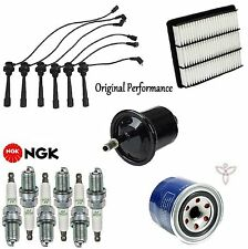 Tune Up Kit Filters Wire Plugs for Mitsubishi Montero Sport V6; 3.5L 1999-2002