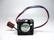SUNON GM1202PFV2-8A Hard disk box fan/Mini Speaker Fan 12V 0.5W 25*25*10MM 3pin