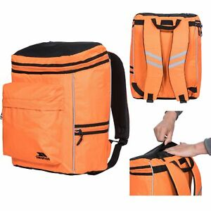 Trespass Idie 27 Litre Orange Hiking Backpack Travel Reflective Rucksack