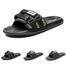 Summer Men Slingbacks Beach Slippers Shoes Open Toe Flats Walking Sports 38-46 B