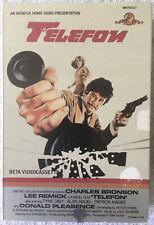 Telefoи (Betamax, 1977) Charles Bronson Lee Remick RARE OOP HTF