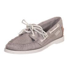 SEBAGO scarpa campionario shoes donna sample woman grigio grey EU 37,5 - 248 N18