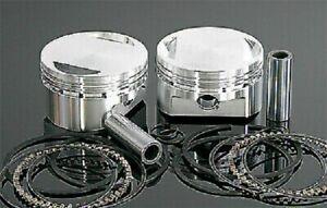 04+ Harley Sportster 1200 10.5:1 STD Wiseco K Piston Kit 62462