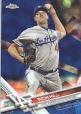 RICH HILL 2017 TOPPS CHROME SAPPHIRE EDITION #462 ONLY 250 MADE