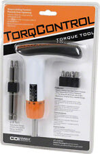CDI TorqControl Adjustable 2-8Nm Bicycle Torque Limiting Wrench Tool 6 Hex Bits
