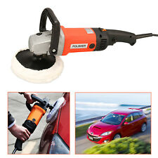 Portable 110V Electric Car Polisher Buffer Sander Waxer Machine