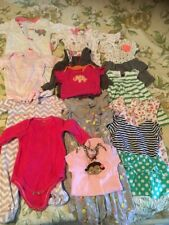 Baby Girl Clothes Lot 3 To 6 Onepiece Jacket Baby gap Carters