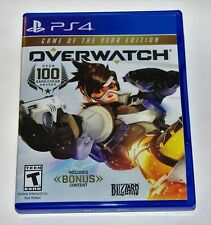 Replacement Case (NO GAME) Overwatch Game Of Year Edition Playstation 4 PS4 Box