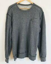 Calvin Klein Unisex Men's Women's Gray Sweatshirt Marled Size Small