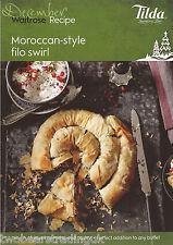 Recipe Card: Moroccan-Style Filo Swirl (Waitrose)