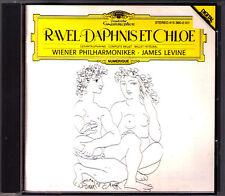 James LEVINE: RAVEL Daphnis et Chloe (Complete) DG 1985 CD Wiener Philharmoniker