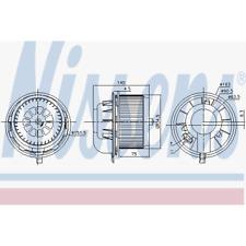 Ventilatore Interno - Nissens 87077