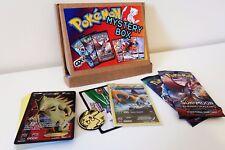 Pokemon Mystery Power Box - GX - EX - HYPER RARE - SECRET RARE -  BOOSTER PACKS
